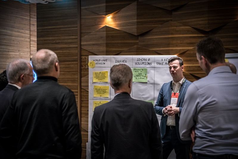 discuss the future of AD in the world café sessions